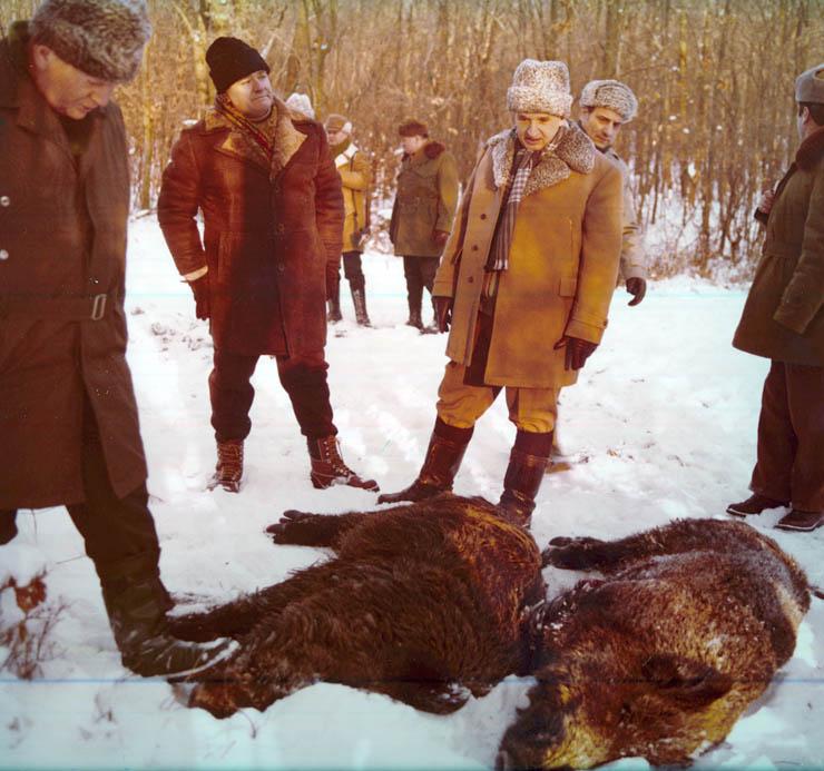 """Ceaușescu, """"primul vănător al țării"""". Ce avea în palmares dictatorul"""