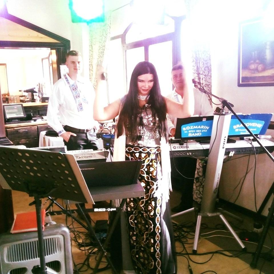 Marinela Nițu la un eveniment