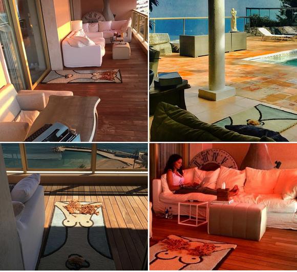 Obiecte surprinzătoare din casa din Monaco a Mihaelei Rădulescu