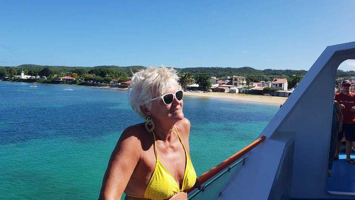 Monica Tatoiu în vacanță