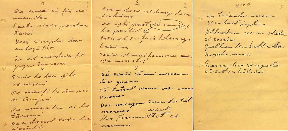 Poezia scrisă de Nicolae Ceaușescu