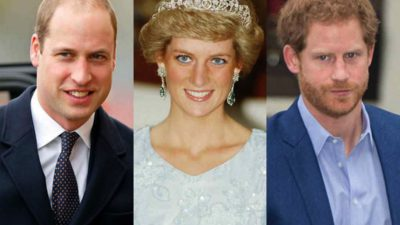 Prinții William și Harry, probleme serioase, după ce ar fi apărut în presă poze cu Prințesa Diana topless