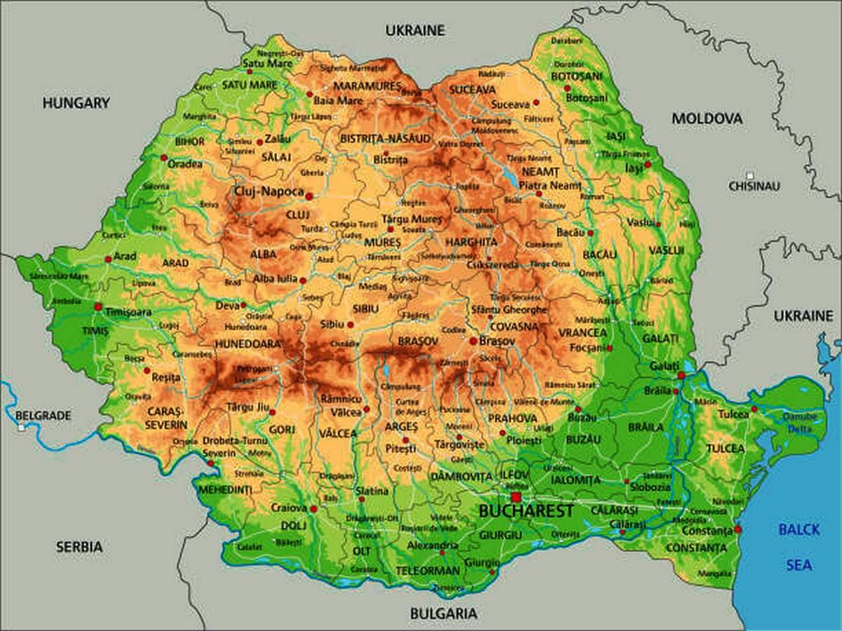 Harta Romaniei Schimbată Total Asa Ar Putea Arăta ţara Noastră