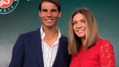 Surpriză uriaşă pentru Simona Halep. Rafael Nadal i-a transmis un mesaj în limba română
