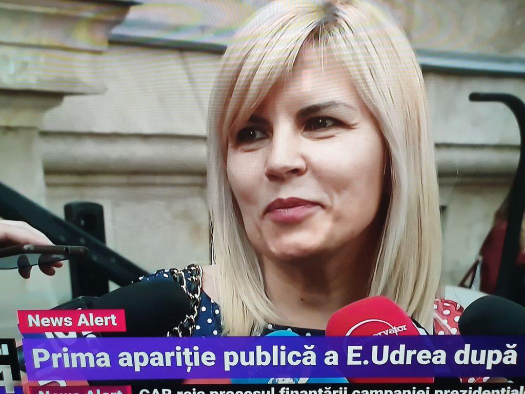 Elena Udrea, primele declarații din fața Curții de Apel București