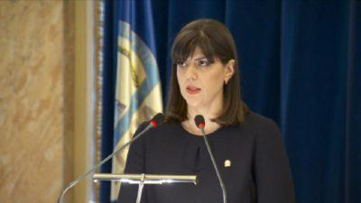 Laura Codruța Kovesi renunță la o funcție importantă, în favoarea postului de la Bruxelles. Ce decizie a luat