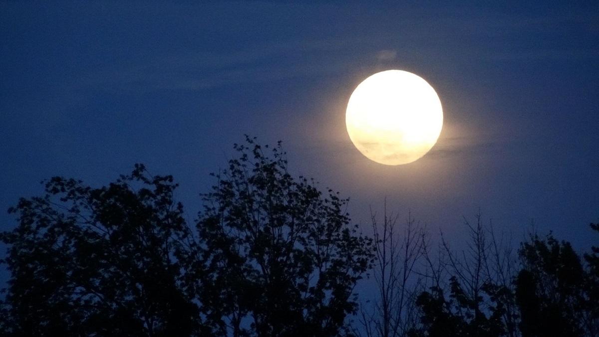 Lună plină diseară. La ce oră trebuie să ne uităm pe cer ca s-o vedem