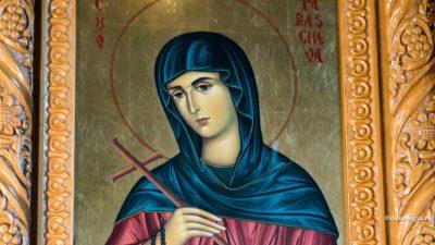 Mare sărbătoare mâine în calendarul ortodox. Este sărbătorită Sfânta Parascheva
