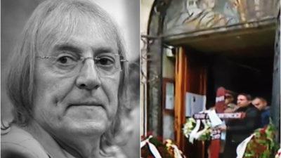 Mihai Constantinescu, pe ultimul drum! Artistul înmormântat cu onoruri militare. Ce se întâmplă, acum, la cimitir