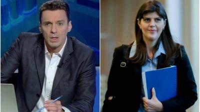 Mircea Badea, ofertă de muncă din partea Laurei Codruța Kovesi. Ce a povestit moderatorul Antena 3