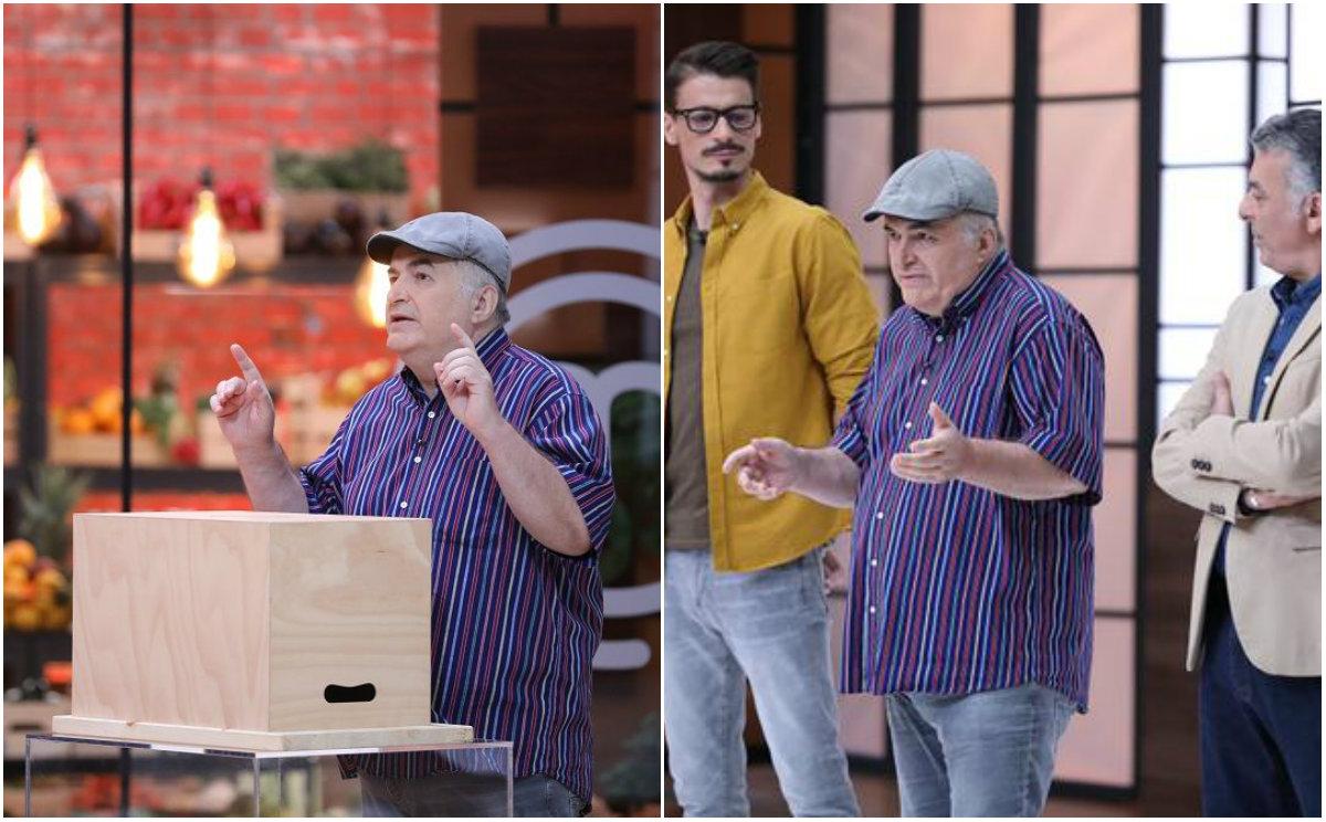 Surpriză de proporții. Florin Călinescu nu se abține nici la Masterchef. Toți cei din bucătărie, speriați de juratul Românii au Talent