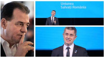 """USR, avertisment dur pentru Ludovic Orban:""""Votăm Guvernul doar în aceste condiții"""""""