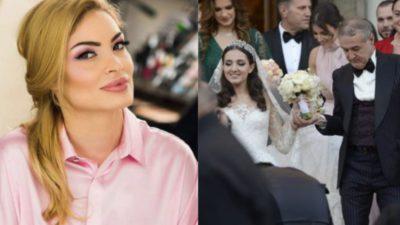 Unde a plecat Valentina Pelinel, în timpul nunții fiicei lui Gigi Becali. Toată lumea a observat că lipsește de la masă