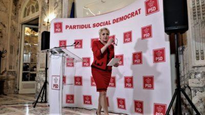 Viorica Dăncilă a făcut anunțul înainte de moțiunea de cenzură. Când va demisiona din PSD