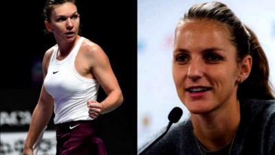 Ce spune Karolina Pliskova, despre confruntarea cu Simona Halep de la Turneul Campioanelor. Meciul dintre cele 2 sportive va avea loc vineri