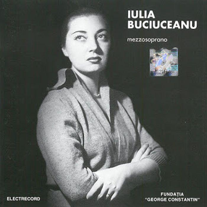 Iulia Buciuceanu, sora regretatei actrițe Tamara Buciuceanu