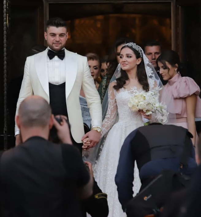 Gigi Becali, în lacrimi la nunta fetei sale. Teodora l-a făcut să plângă printr-un gest emoţionant