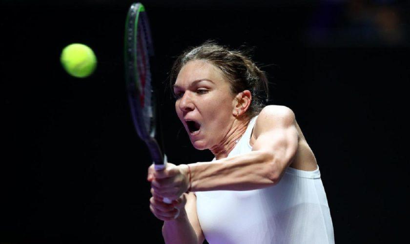 Simona Halep, învinsă de Karolina Pliskova la Turneul Campioanelor. Ce s-a întâmplat cu românca în setul decisiv VIDEO