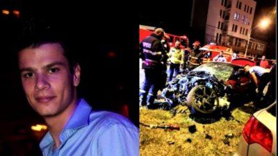 Mario Iorgulescu, dependent de viteză. Cum se filmase la volanul mașinii sale, înainte de accident