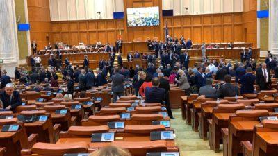 Rezultatul votului pentru moțiunea de cenzură. Cum au votat parlamentarii PNL, USR, PMP, ALDE și UDMR