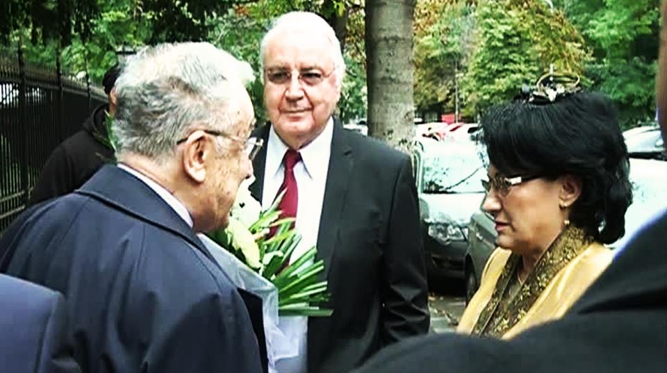 Ecaterina Andronescu și soțul ei au fost nașii unei foste consiliere de-ale lui Ion Iliescu