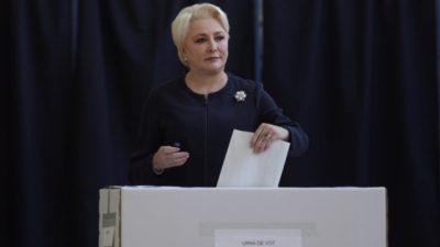 Exit Poll ora 12:00 Alegeri Prezidențiale. Harta județelor unde Viorica Dăncilă ar fi peste Klaus Iohannis