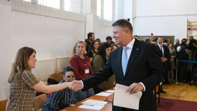 Iohannis şi turul doi: cum arată la exit poll președintele României
