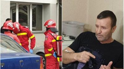 """Mărturia bărbatului care și-a pierdut soția și copilul după deratizarea blocului din Timișoara. """"Au crezut că a vrut să se sinucidă!"""""""