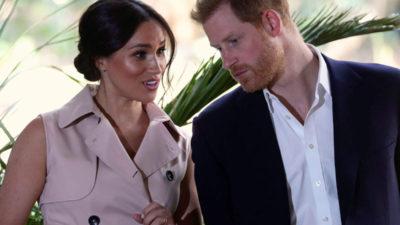 Meghan Markle și Prințul Harry au pățit rușinea în public! Ce le-a făcut Regina în văzul tuturor