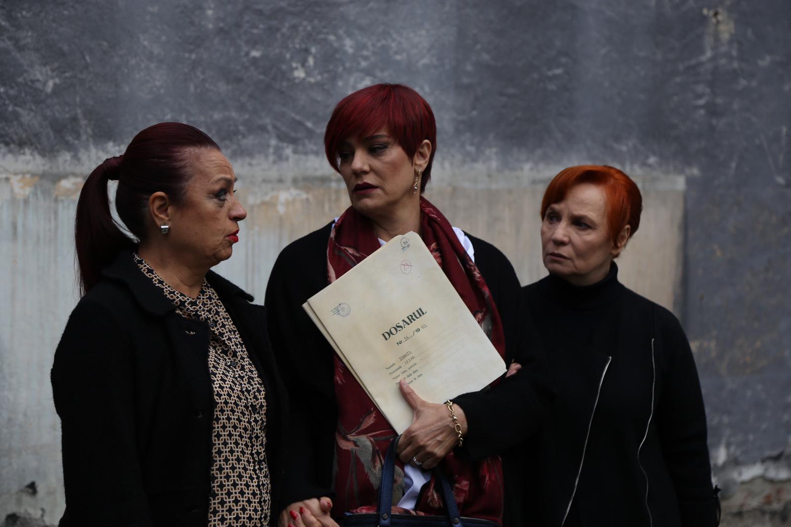 trei actrițe din serialul Sacrificiul,