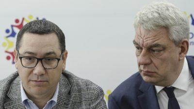 Victor Ponta, izolat în Pro România. Mihai Tudose poate duce partidul la disoluție