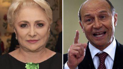 """Traian Băsescu, reacție neașteptată despre demisia Vioricăi Dăncilă: """"Ea a fost într-o capcană"""""""