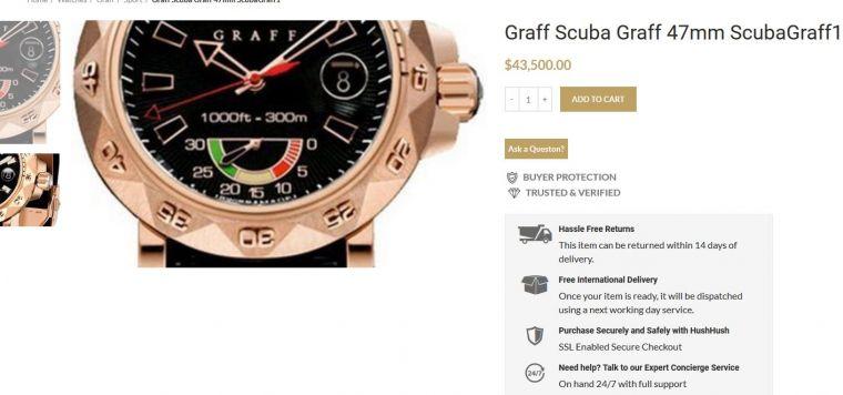 Modelul ceasului lui Klaus Iohannis. Foto: wowbiz.ro