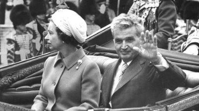 Ce au făcut Nicolae Ceaușescu și Elena când au văzut că regina Elisabeta fuge de ei. Monarhul s-a ascuns în boscheți