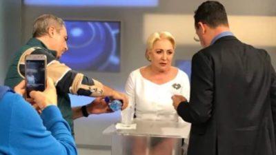 Ce a spus Victor Ciutacu, după ce Viorica Dăncilă a fost la el în emisiune. Detaliul inedit care a ieșit la iveală despre candidata PSD