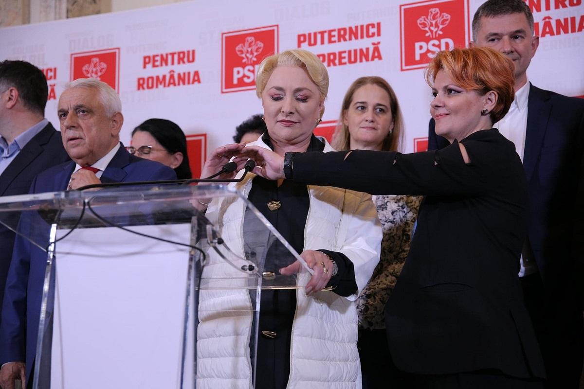 Tristețe mare la sediul PSD în ziua alegerilor prezidențiale. Petre Daea a adus salam, roșii și brânză
