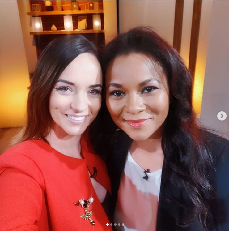 Nadine a apărut ieri la TVR alături de Andreea Marin, unde a vorbit despre noua emisiune pe care o va prezenta