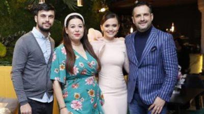 Oana Roman, apariție controversată la ziua Cristinei Șișcanu. Toți s-au uitat lung la cizmele ei FOTO