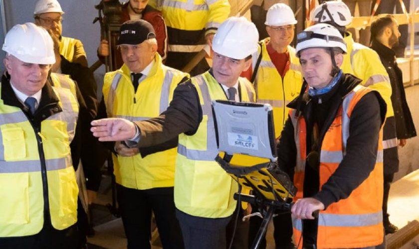 Ludovic Orban, pe șantierul Magistralei 5. Premierul a spus când va fi gata metroul din Drumul Taberei