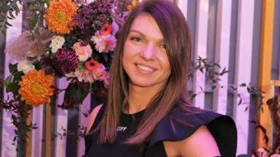 Simona Halep a uimit din nou! A ales o rochie neagră, elegantă, dar încălțămintea a atras toate privirile