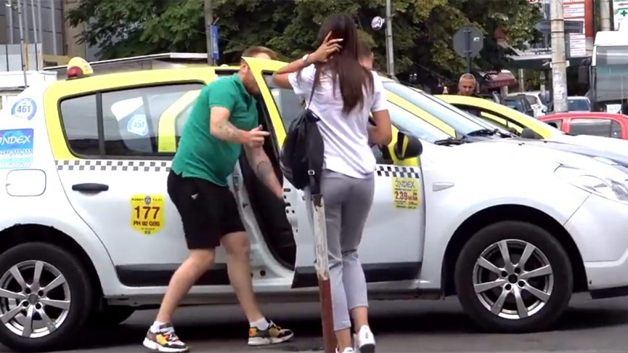 Taximetrist din Capitala filmt de o jurnalista de la PRO TV in timp ce folosea un limbaj neadevat