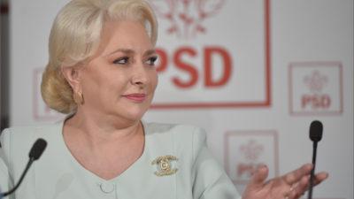 LIVE TEXT Conferință de presă Viorica Dăncilă, joi, ora 18.00. Șefa PSD a evitat să răspundă la o întrebare foarte incomodă