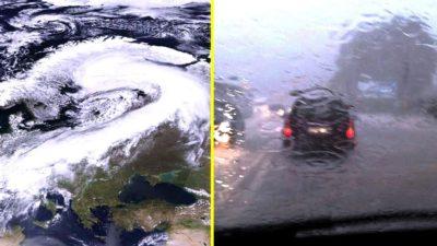 România va fi lovită de un ciclon mediteranean uriaș. ANM a anunțat ce se întâmplă cu vremea de Crăciun