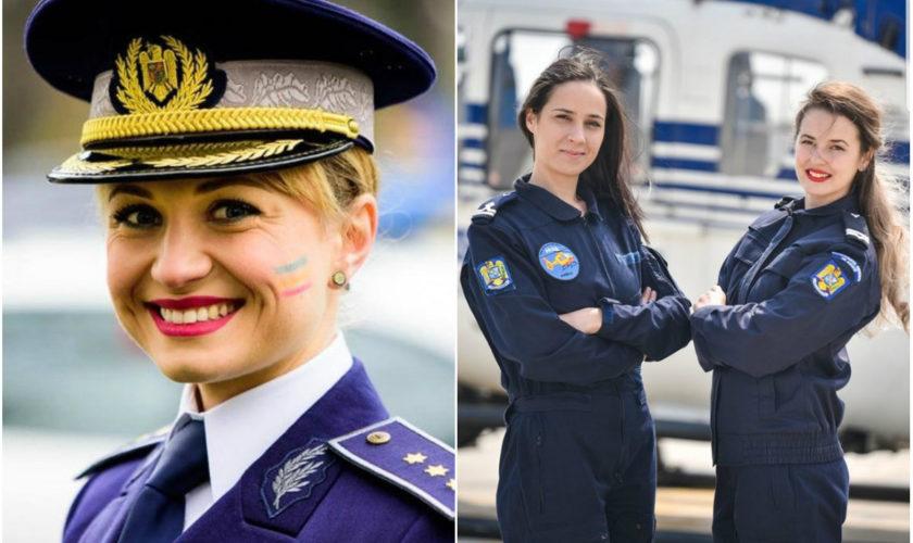 Cele mai frumoase polițiste din România. Ele vor defila cu mândrie de Ziua Marii Uniri FOTO