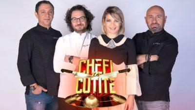 Ei sunt concurenții care au ajuns în marea finală Chefi la Cuțite. Cine se luptă pentru marele premiu la Antena 1
