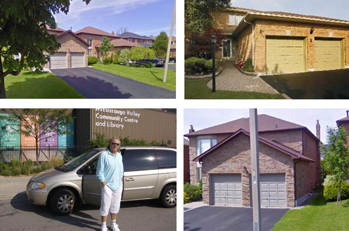 Colaj casa lui Ștefan Hrușcă din Canada