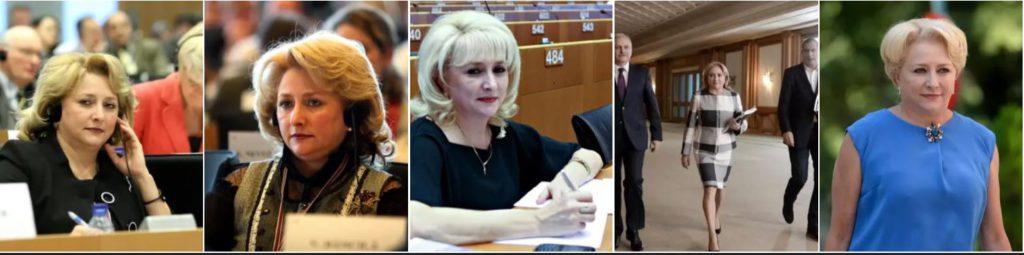 Coafurile lui Dăncilă de la începutul carierei până la pierderea funcției de premier al RomânieiCoafurile lui Dăncilă de la începutul carierei până la pierderea funcției de premier al României