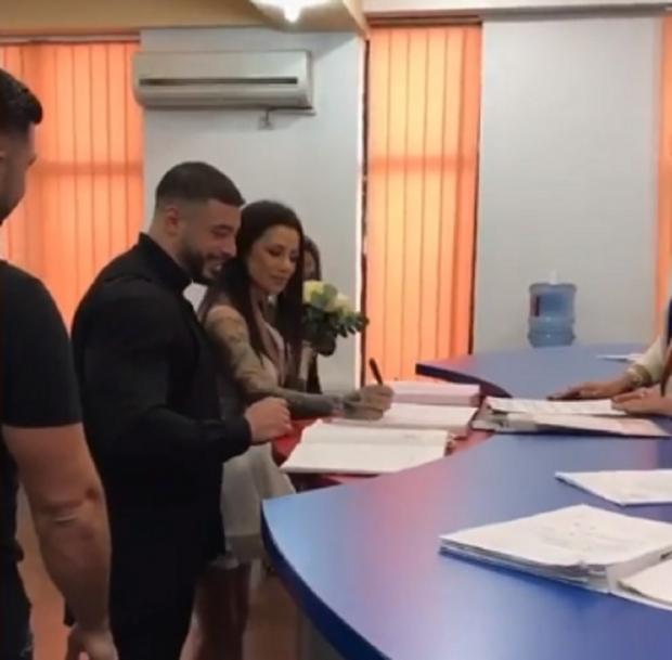 Roxana Vancea s-a căsătorit