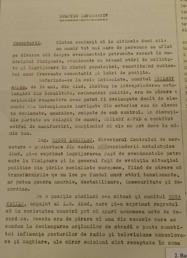 Buletinul informativ al Securității, care i-ar fi putut salva viața lui Nicolae Ceaușescu. Ce scria în el
