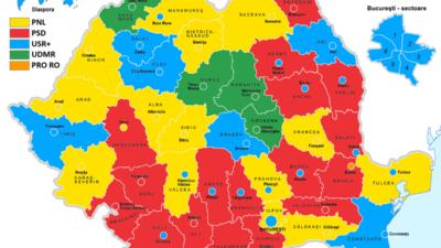 Sondaje pentru primăria Capitalei: Cum stau PNL, PSD și USR la procente